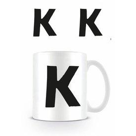 Alphabet Mug Letter K