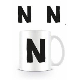Alphabet Mug Letter N