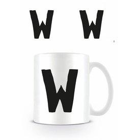 Alphabet Mug Letter W