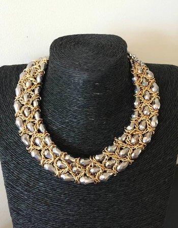 Shiny Crystal Silver-Gold