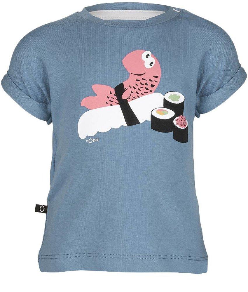 nOeser Tom t-shirt sushi
