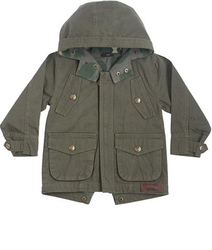 Lucky No.7 rebellious parka zomerjas