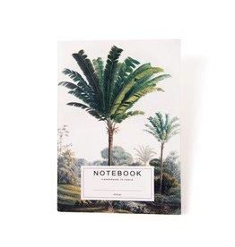 A la Notitieboek met palmbomen Tapi