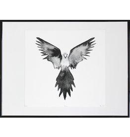 INK Amsterdam Wild Bird - incl lijst