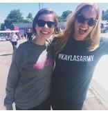 #kaylasarmy sweater blue