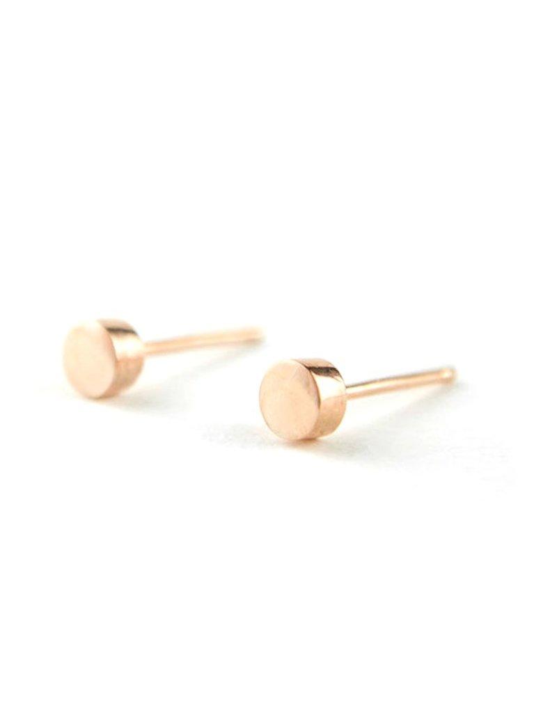 MIAB Jewels Gold earring – tiny dot