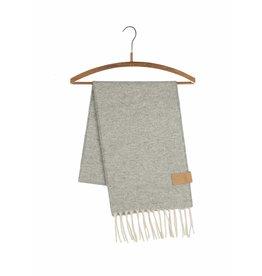 Yaco Sjaal van schapenwol grijs