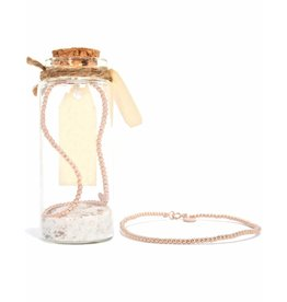 MIAB Jewels Rosé gold bracelet – subtile