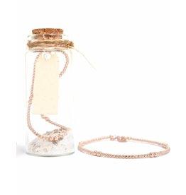 MIAB Jewels Rosé gold bracelet – mix
