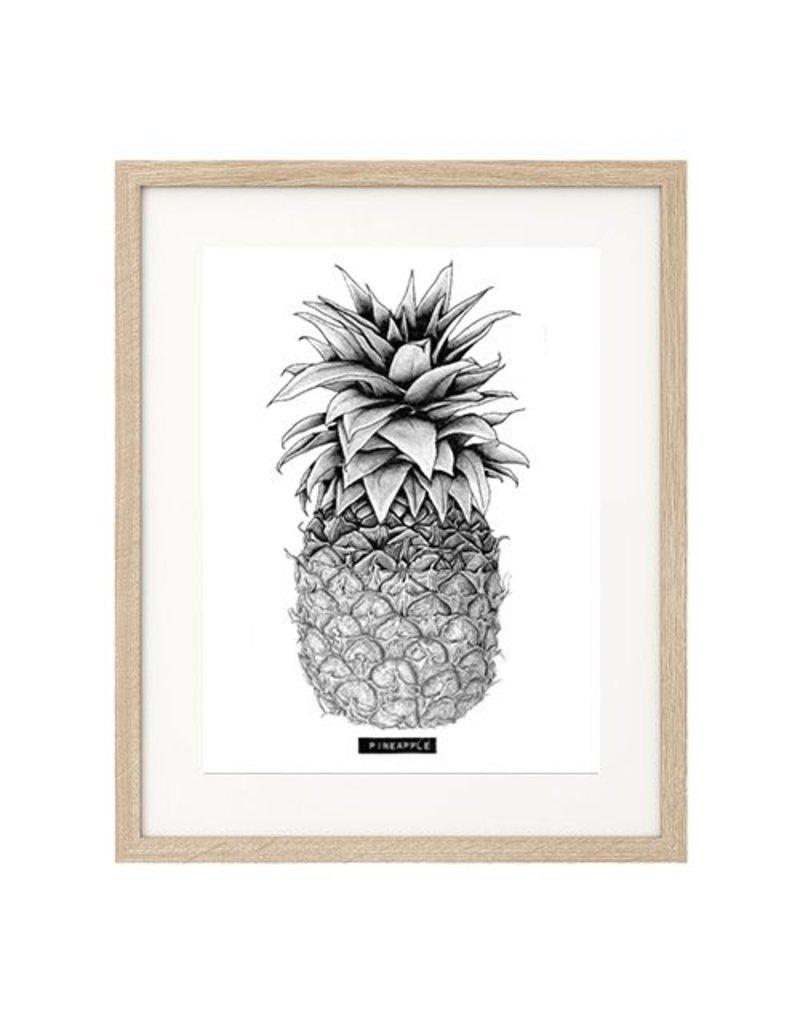Carlijn Potma Pineapple illustratie