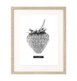 Carlijn Potma Strawberry illustratie