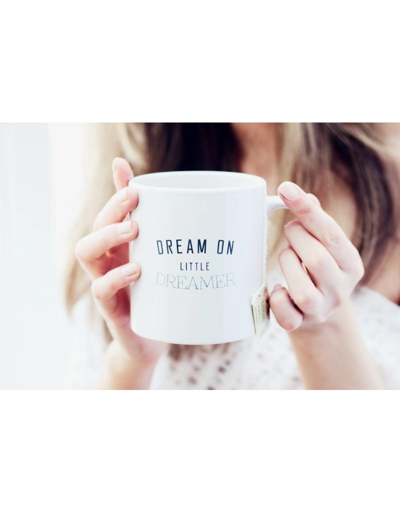 The Gift Label Mug - Dream on little dreamer