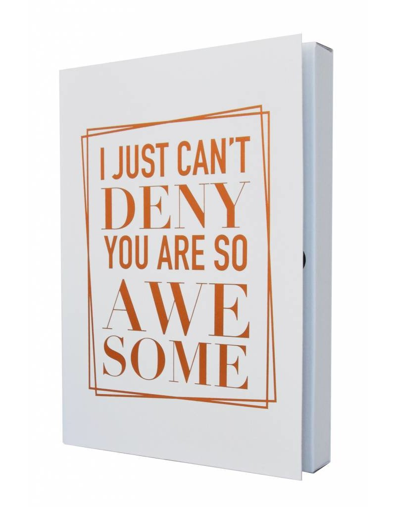 The Gift Label Notebook - You are so awesome