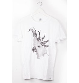Noot T-shirt wit limited edition