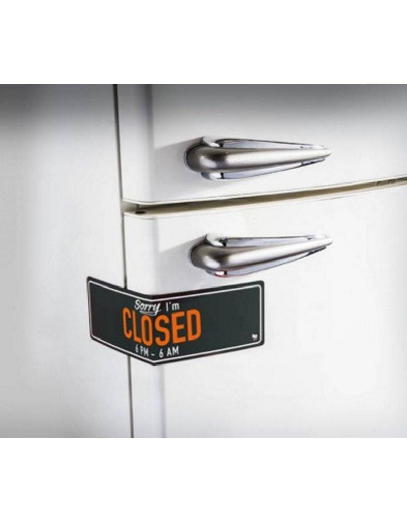 Koelkastmagneet - Closed