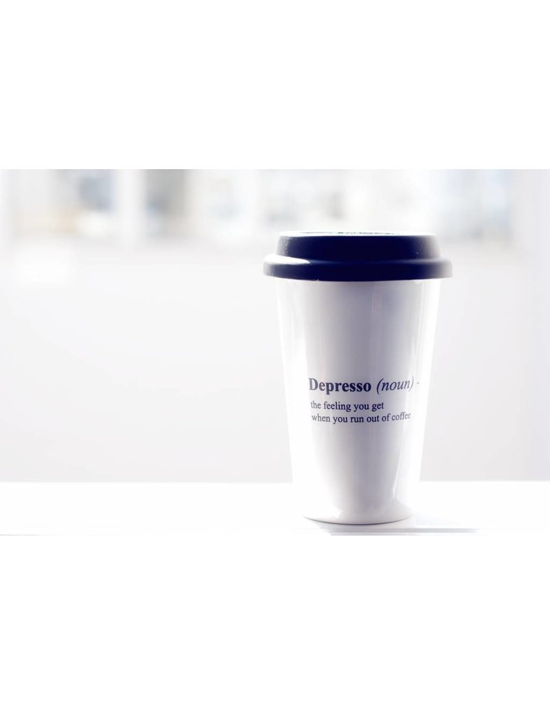 The Gift Label Take away mug - Despresso