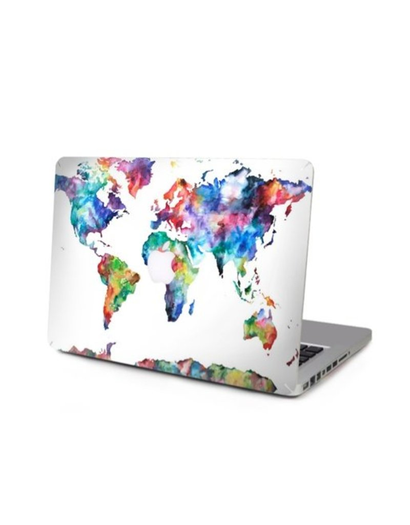 My Interior Musthaves Travel the world macbook sticker