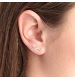 Riverstones Gouden oorbellen Melt