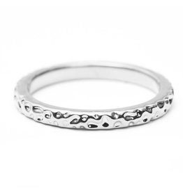 Riverstones Pure ring silver