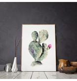 Annet Weelink Design Illustratie - Cactus