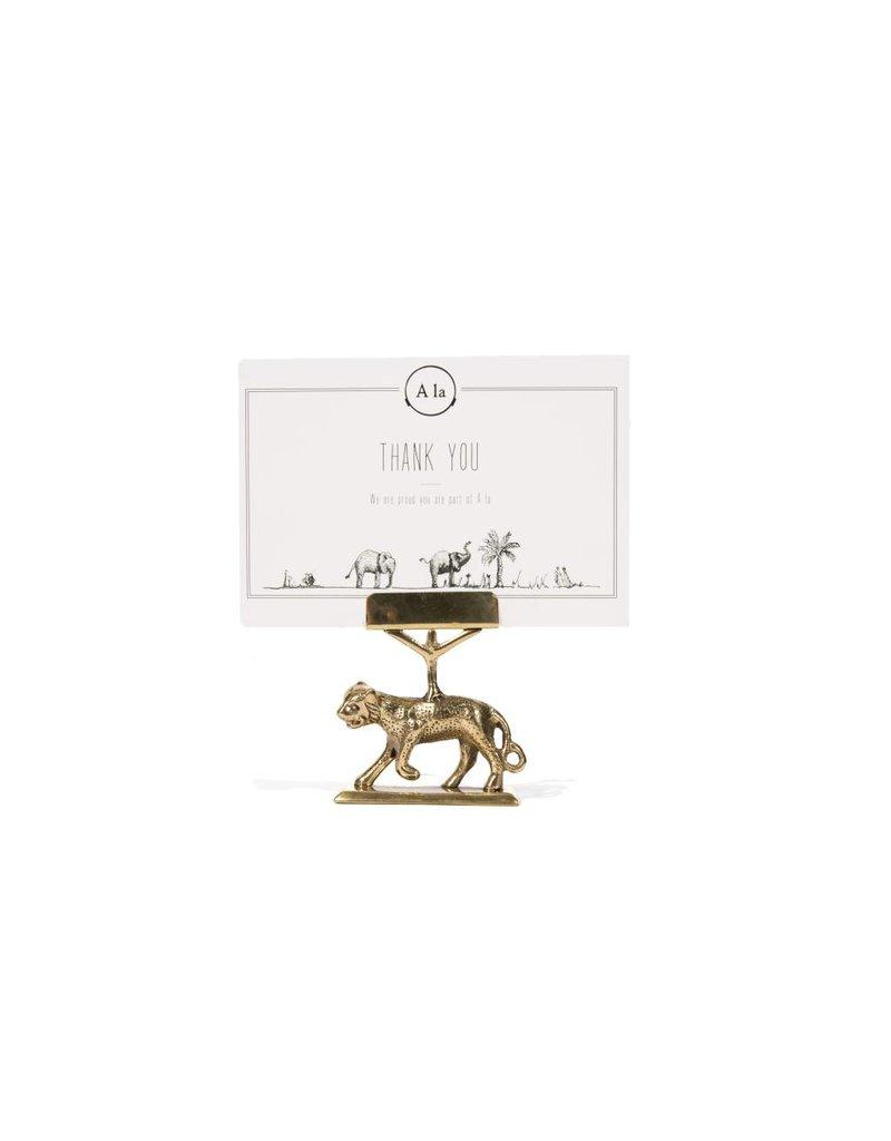 A la Luipaard kaarthouder Qimat