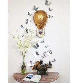 3D vlinders spiegel