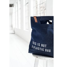 Yaco 'This is not a plastic bag' Bag