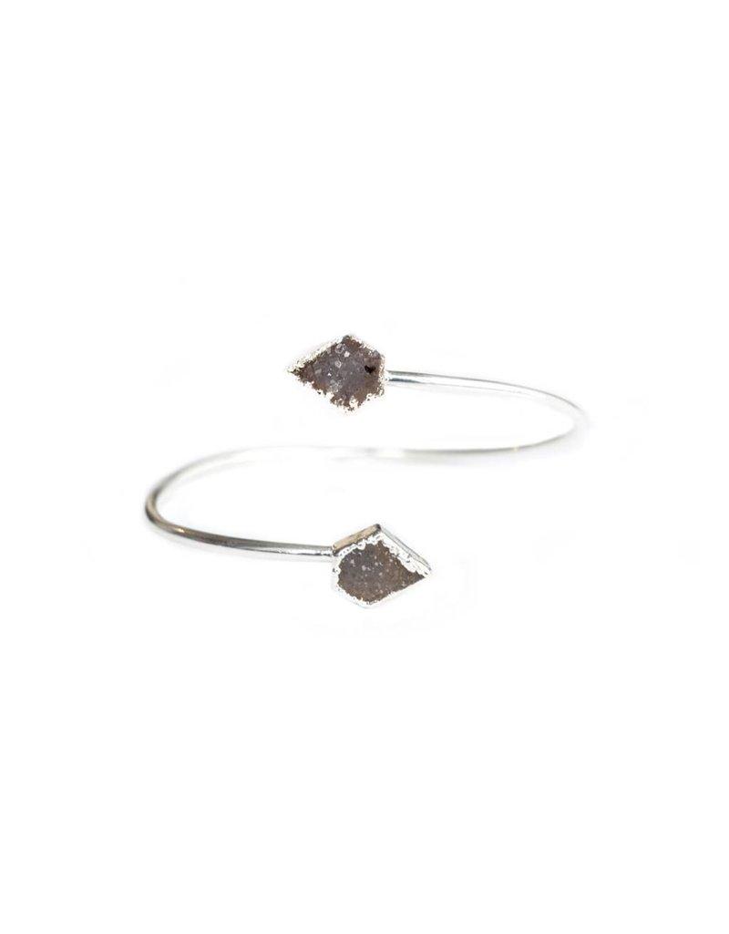 ISH-Jewels Armband Cloudwalker zilver