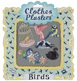 Kleding patches birds