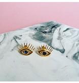 Wildthings Oorbel Evil Eye goud