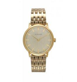 Renard Gouden horloge schakelband