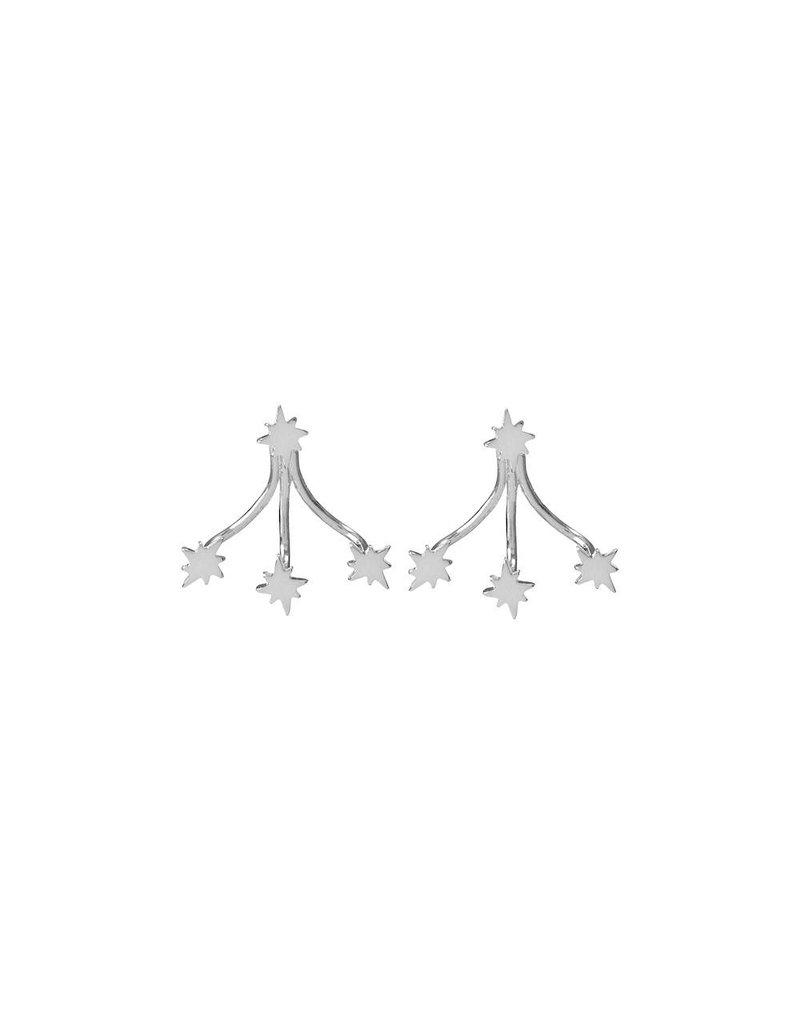 Riverstones Oorbellen sky zilver