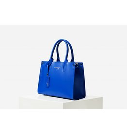 PiNNED by K Handtas kobalt blauw