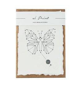 Animaal Amsterdam Vlinder print