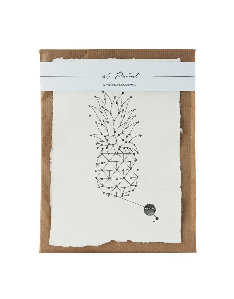 Animaal Amsterdam Ananas print