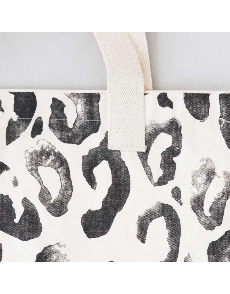 Annet Weelink Design Tote bag met animal print
