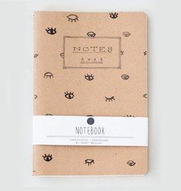 Annet Weelink Design Notebook Eyes