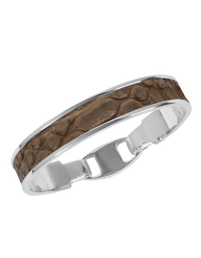 Bandhu Zilveren armband Camel Snake
