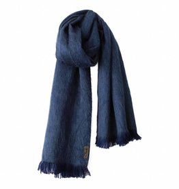 Bufandy Blauwe sjaal van Alpacawol