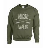 Believe the hype Groene trui Weekend warrior