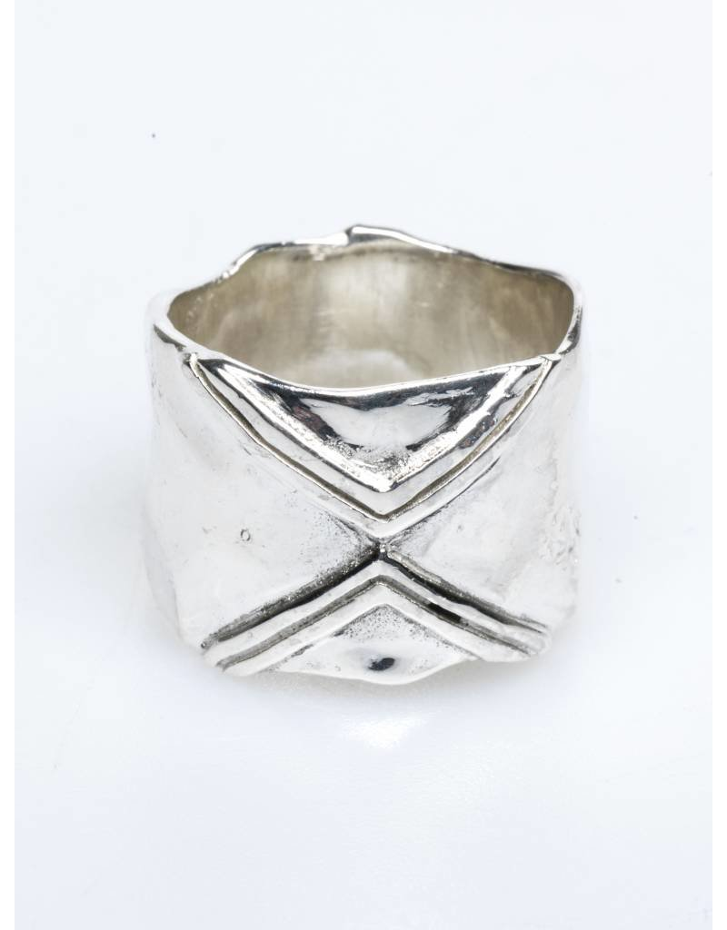 Riverstones Statement ring zilver karma