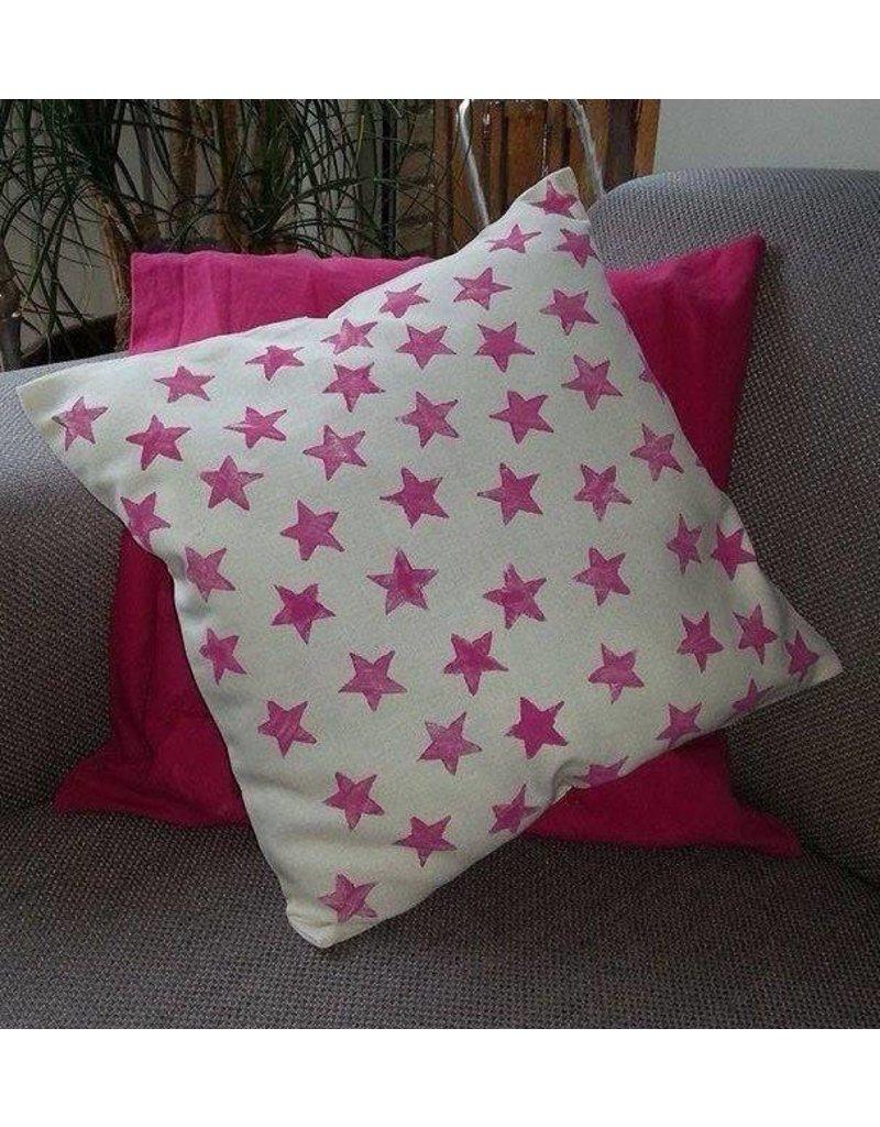 IMAKIN DIY pakket kussenhoes roze