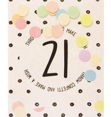 The Gift Label Confetti kaart 21