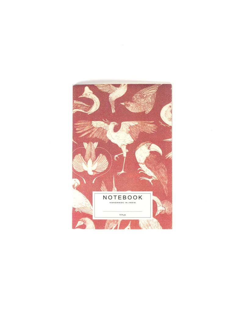A la Notitieboek Red birds
