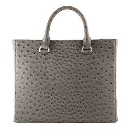 Denise Roobol Grijze handtas dot - daily bag