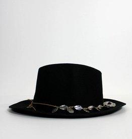 Return Zwarte hoed met muntjes