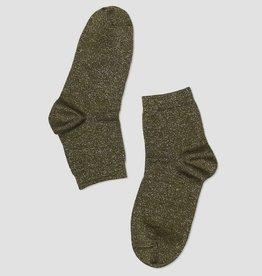 PiNNED by K Glitter sokken groen