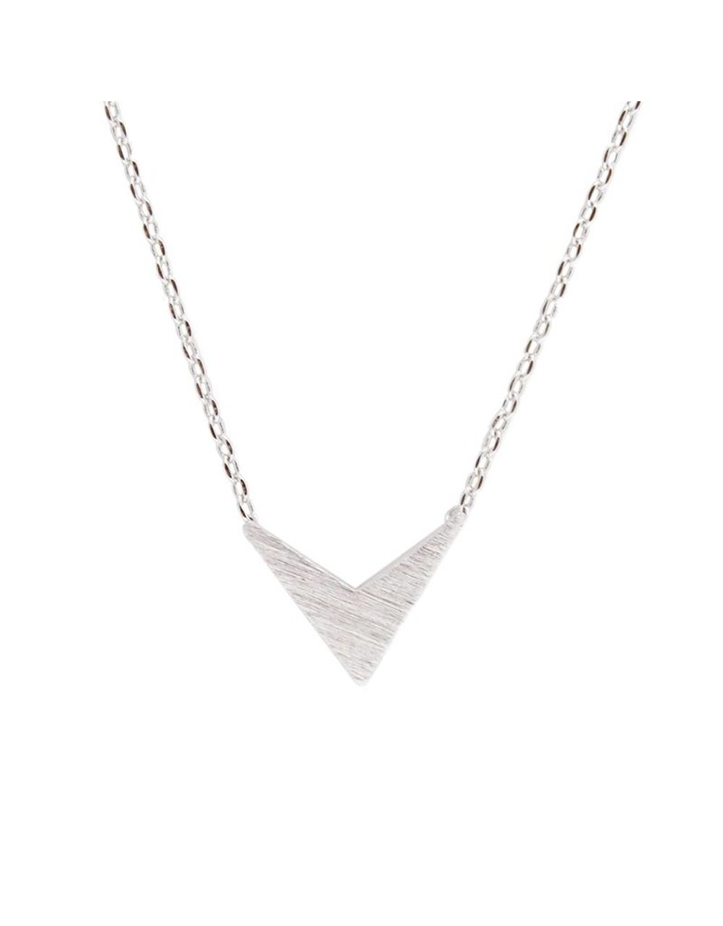 All the Luck in the World Zilveren ketting v