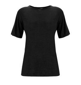People's Avenue Zwart T-shirt van bamboe