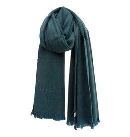 Bufandy Zeegroene sjaal van Alpacawol